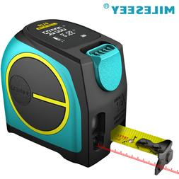 Mileseey 2-in-1 Laser Tape Measure Long-Distance Measuring 1