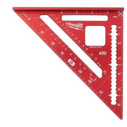 "7"" Rafter Square Carpenter's Measuring Layout Marking Tool V"