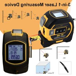 ALL-IN-ONE Laser Tape Measure Laser Level Distance Measuring
