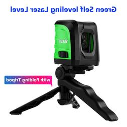 Green Laser Level USB Charging Waterproof IP54 for Pipes Ind