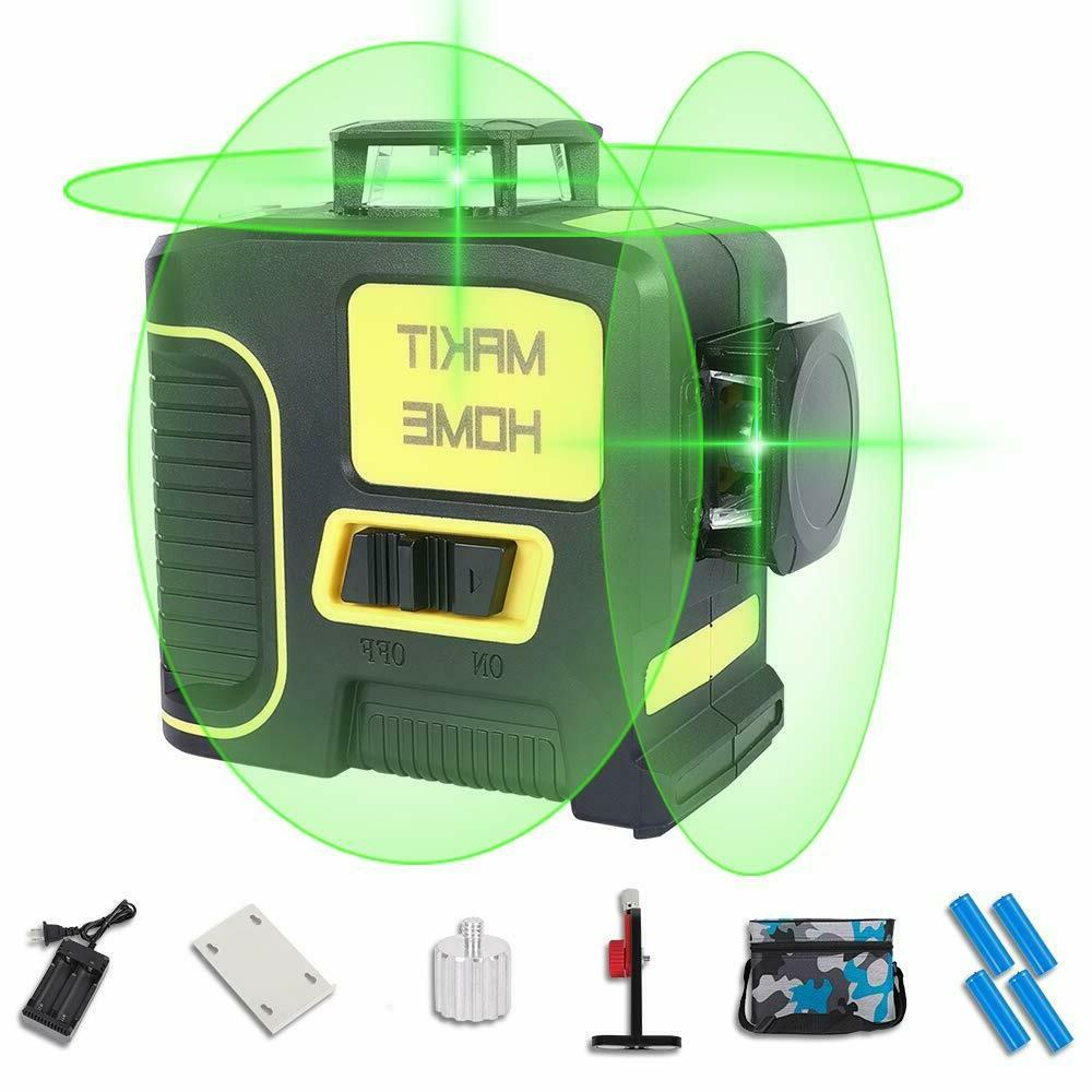 3d laser green beam self leveling within