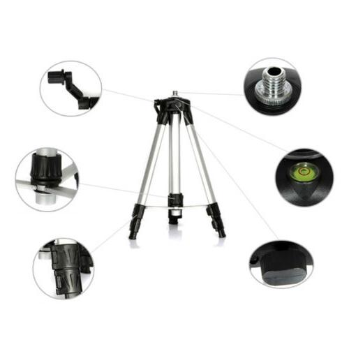 Adjustable Aluminum Tripod Laser and