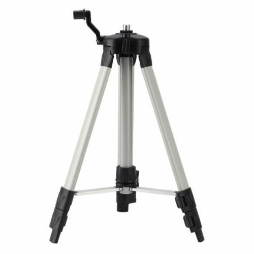 adjustable aluminum tripod for laser level measuring