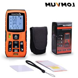 LOMVUM Laser Distance Meter Rangefinder Area volume Measurem