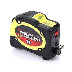 Multi-Purpose SAE and Metric Measuring Tape with Level and L