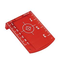 Firecore Target Card Plate for Red Laser Level - magnetic ba